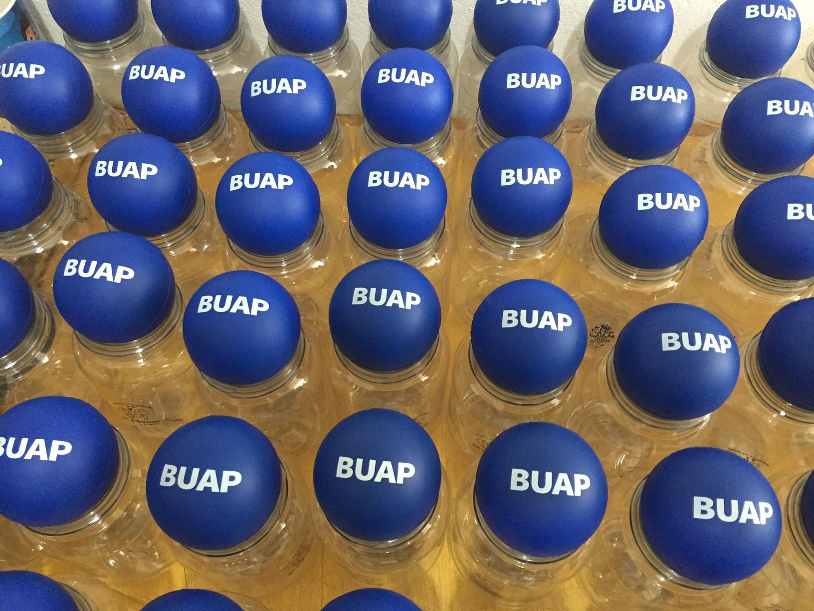 #BUAP #Pelota Antiestres #KW Publicidad Corporativa 3, Trabajos Recientes