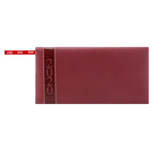 AGB 020 T agenda de bolsillo clasica 2020 tinto 1