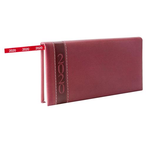 AGB 020 T agenda de bolsillo clasica 2020 tinto 2