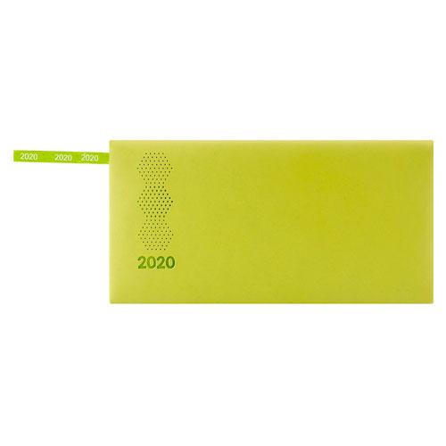 AGBT 020 V agenda de bolsillo terra 2020 verde 1