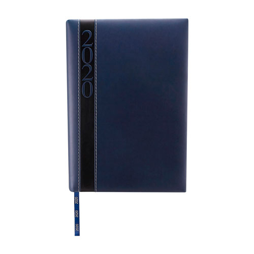 AGD 020 A agenda diaria clasica 2020 azul