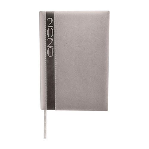 AGD 020 G agenda diaria clasica 2020 gris 1