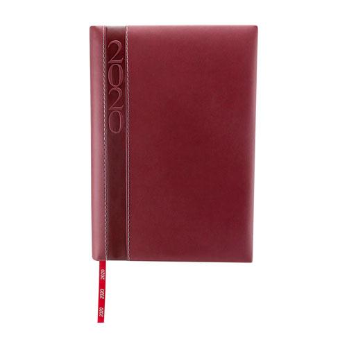 AGD 020 T agenda diaria clasica 2020 tinto 1