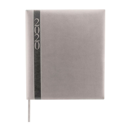 AGE 020 G agenda ejecutiva clasica 2020 gris 1