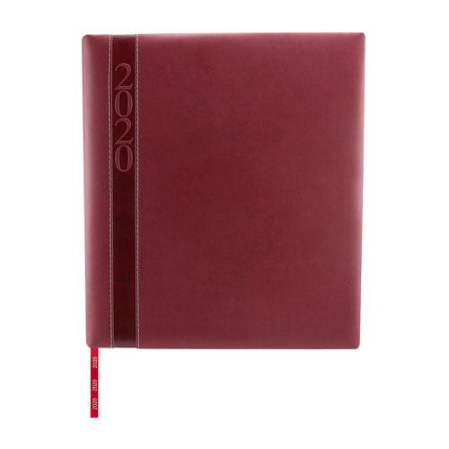 AGE 020 T agenda ejecutiva clasica 2020 tinto