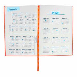 AGT 020 O agenda diaria terra 2020 naranja