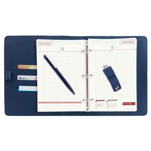 AGU 020 A agenda diaria usb veraldi 2020 azul