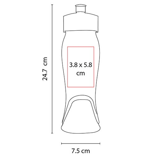 ANF 003 V cilindro twister verde translucido 2