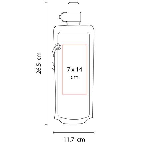 ANF 005 R cilindro mabira color rojo 2