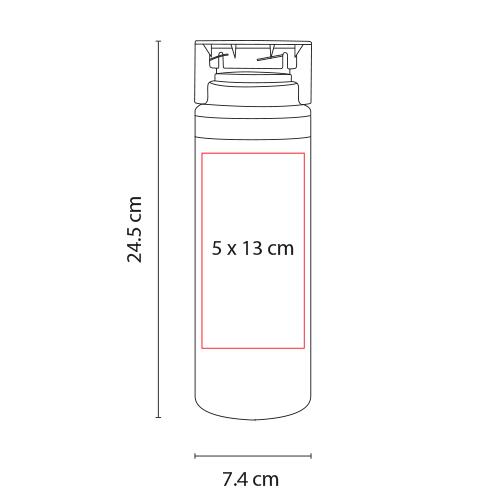 ANF 006 R cilindro lake color rojo 2