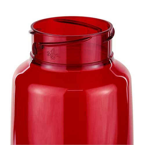 ANF 009 R cilindro sinker rojo translucido 2