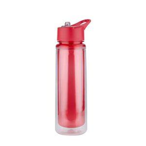 ANF 010 R cilindro milo color rojo translucido