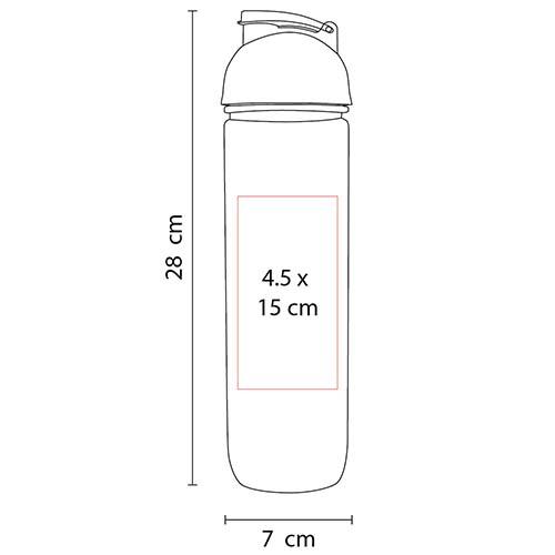 ANF 017 P cilindro tisza color rosa 2