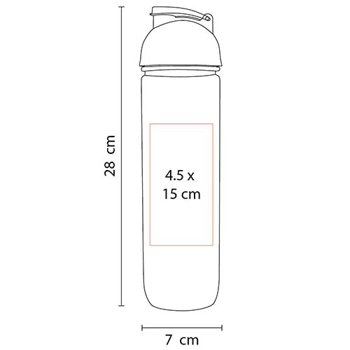 ANF 017 R cilindro tisza color rojo 5