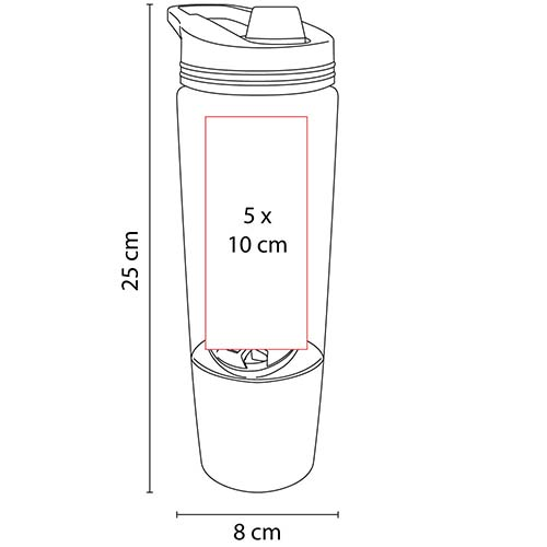 ANF 031 O cilindro shaker ovens color naranja 2
