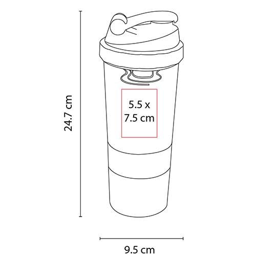 ANF 042 R cilindro menafra color rojo 6