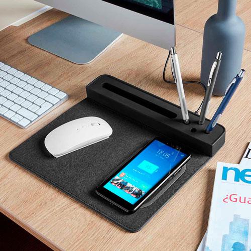 AST 002 N mouse pad cargador agadir negro