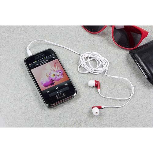AUD 004 R audifonos melody color rojo 2