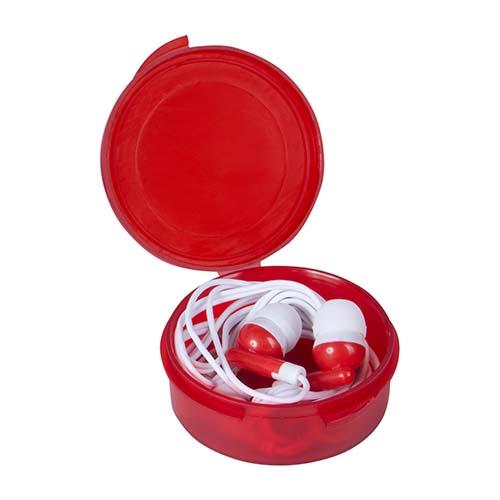 AUD 004 R audifonos melody color rojo