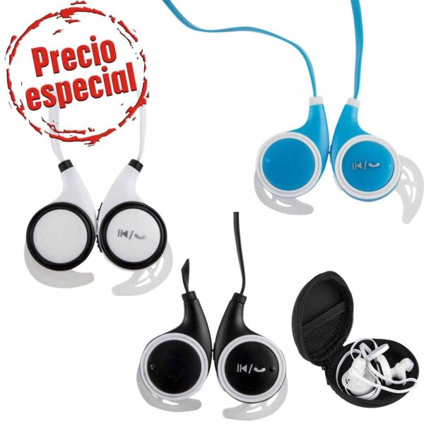 Audífonos Bluetooth con batería