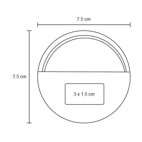 Audífonos de conexión de 3.5 mm. Incluye-2
