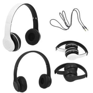 Audífonos plegables con conexión de 3.5