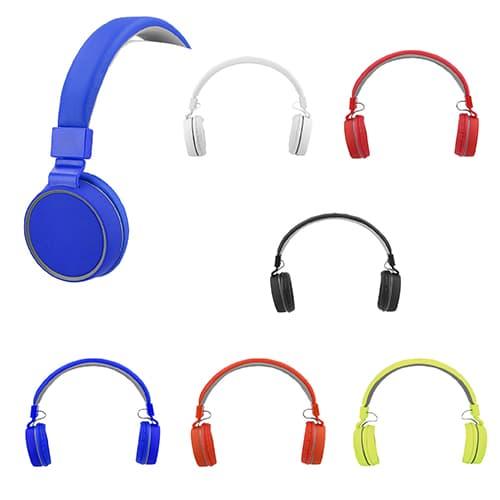 Audífonos plegables en acabado rubber