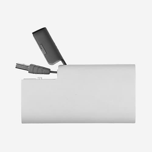 Batería portátil de plástico