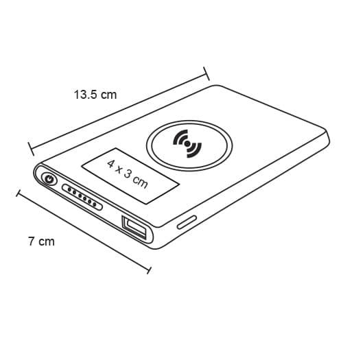 Batería portátil e inalámbrica de metal-2