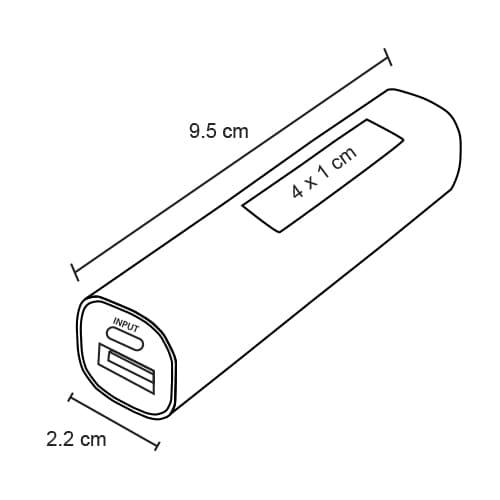 Batería portátil para suministro de