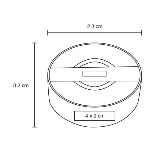 Bocina portátil con Bluetooth