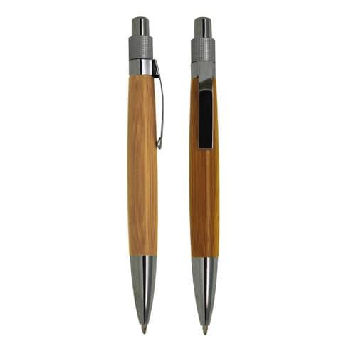Bolígrafo de bambú con clip metálico.-1.jpg