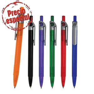 Bolígrafo de plástico con cuerpo de