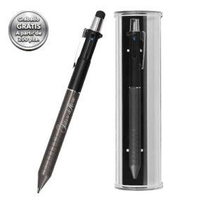 Bolígrafo metálico con mecanismo