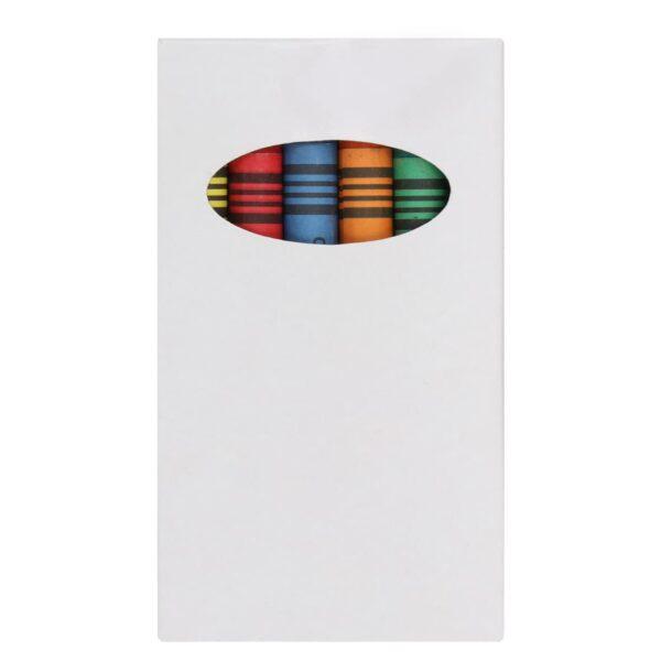 Caja con 5 crayolas.