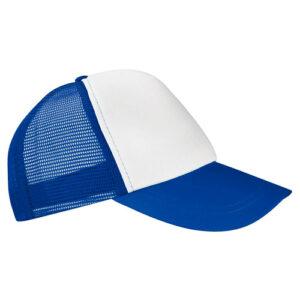 CAP 004 A gorra trucker color azul