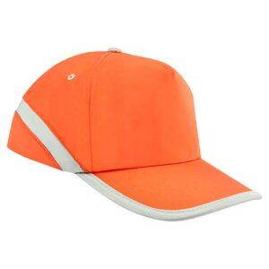 CAP 005 O gorra rainbow color naranja