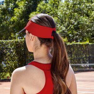 CAP 012 R visera bayuda color rojo