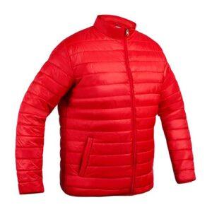 CHM 010 R-M chamarra norfolk rojo talla mediana