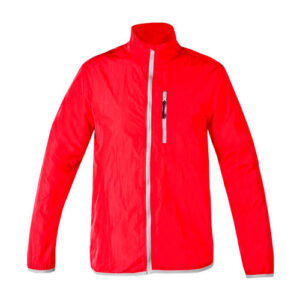 CHM 015 R-M chamarra deportiva ligera yeosu rojo talla mediana