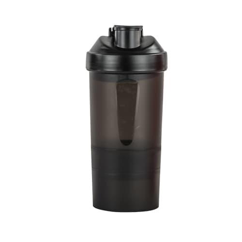 Cilindro de plástico con compartimentos, Cap. 450 ml. - T 18 - For Promotional 1,