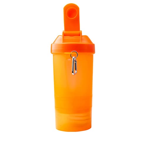Cilindro de plástico con compartimentos