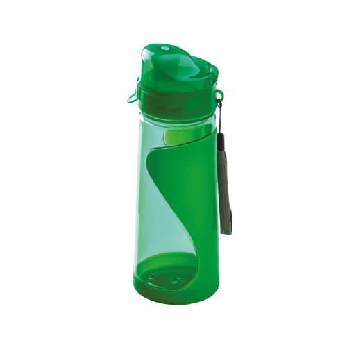 Cilindro de plástico con tapa