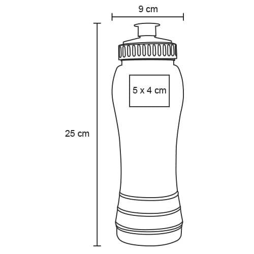 Cilindro de plástico de color traslúcido-10