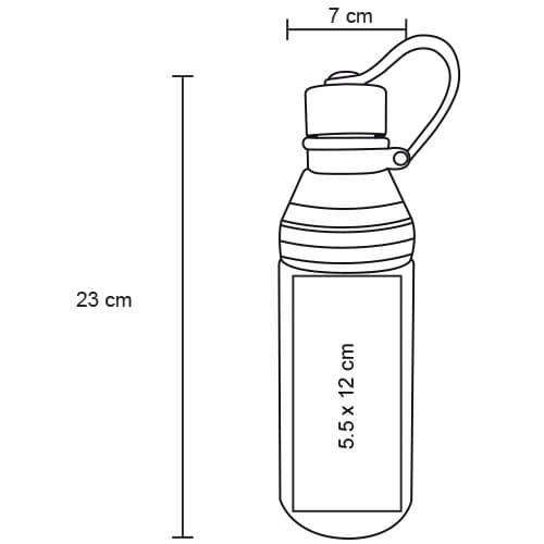 Cilindro de plástico