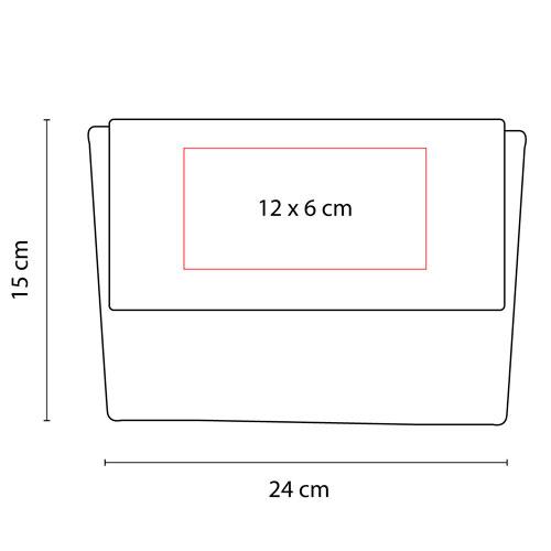 DAM 021 R cosmetiquera poland color rojo 3