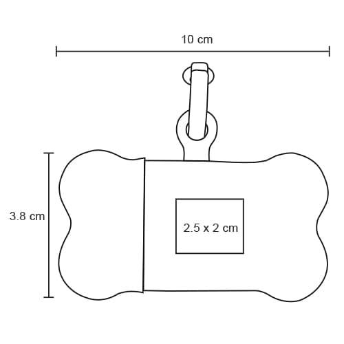 Dispensador de bolsas de plástico con-2