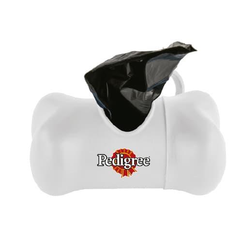 Dispensador de bolsas de plástico con