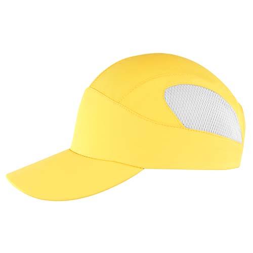 GEP 002 Y gorra flatcolors color amarillo 1