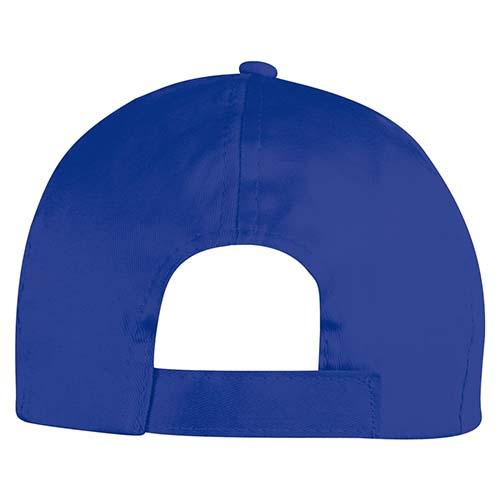 GEP 003 A gorra de algodon color azul rey 3
